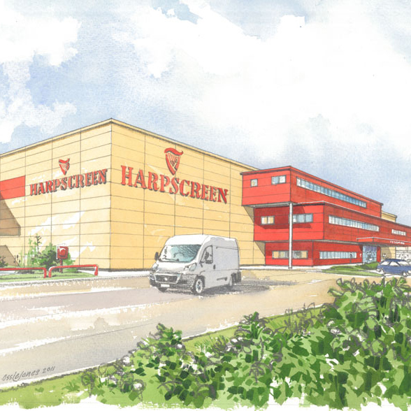 Harpscreen